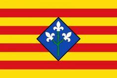 Bandera de la Provincia de Lérida