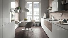 La cucina bianca: elegante praticità