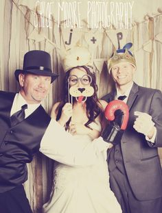 Chloe Moore Photography: The Blog: J+P's Wedding Photobooth
