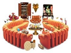 fun+tabulous cocktails #10555 by didesi on Polyvore featuring interior, interiors, interior design, home, home decor, interior decorating, Safavieh, Sunpan, GREEN and B&B Italia