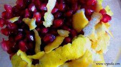 Liquore al limone e melograna: il sole autunnale nel bicchiere