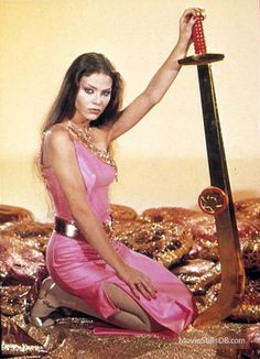 Flash Gordon promo shot of Ornella Muti