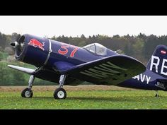 Giant Rc F4U-4 Corsair *Maiden Flight*