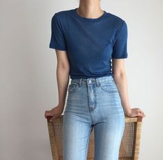 Image shared by -𝒑𝒓𝒖𝒏𝒖𝒔. Find images and videos about fashion, cute and style on We Heart It - the app to get lost in what you love. Basic Outfits, Korean Outfits, Simple Outfits, Sexy Outfits, Trendy Outfits, Cool Outfits, Summer Outfits, Fashion Outfits, Korean Clothes