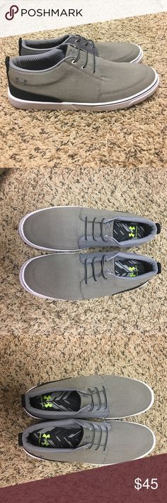 Men's Under Armour shoes Men's Under Armour slip on shoes. Never been worn! Under Armour Shoes Sneakers