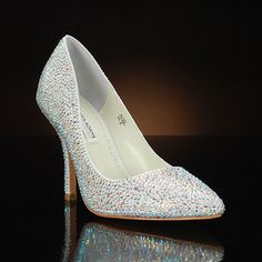 BENJAMIN ADAMS JADA Wedding Shoes and JADA Dyeable Bridal Shoes IVORY: