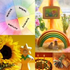 Daily Colours : Rhythm of the Year Circle - Free PDF Download