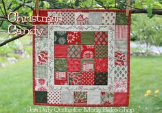 Merry Christmas, quilting friends! I know July may be a bit too early for season's greetings, but it's definitely not too early to begin your Christmas stitching! And in the spirit of the season, here