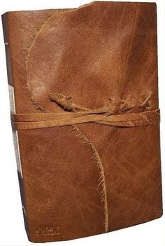 leather journal brown rugged handmade rustic journal by dancing