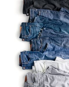 j crew catalog t shirt flat shot Denim Display, J Crew Catalog, Denim Editorial, Denim Flats, Men's Denim, Denim Style, All Jeans, Men's Jeans, Clothing Photography
