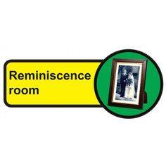 Reminiscence Room Dementia Sign, help people with dementia and sight problems by displaying these 'Reminiscence Room Dementia' signs around your premises, they assist in maintaining their independence, just peel off the backing strip and stick to the door Signs Of Dementia, Plastic Signs, Sign Materials, Types Of Doors, Room Doors, Room Signs, Sign Design, Adhesive Vinyl, Helping People