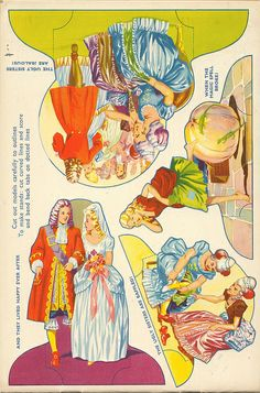 VIntage Cinderella play, cut and play by shelece, via Flickr