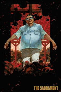 Alternate poster art for Ti West's The Sacrament.