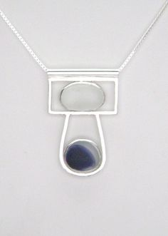 Sea Glass Jewelry Sterling Rare Victorian por SignetureLine