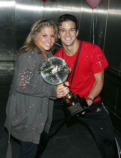 Dancing With The Stars: Past Winners  Season 8 winners: Shawn Johnson and Mark Ballas