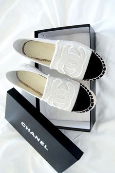 Chanel espadrilles for summer