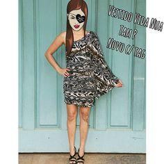 Vestido um ombro só VIDA NUA  Com manga longa boca de sino Tam P - veste de 36 a 38 NOVA C/ TAG  PROMOÇÃO TEMPO LIMITADO      R$59,90  ⚠COMO COMPRAR⚠ 🍒Todas informações no direct/inbox 📞 WhatsApp 👉 31 8729-0249 🍒  Aceitamos CARTÃO  💳  #vidanua  #dress #animalprint  #vestido #promocao #sale #brechobh #uohbrecho #brecho #brechoinfantil  #instagood #pretty  #girl  #love #moda #cool #good #cute #follow #fashion #fun #igers  #ootd #blogger #inlove #model #blog #belohorizonte #brasil