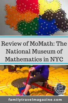 Our view of MoMath - the National Museum of Mathematics, located in the Flatiron District of NYC. The museum is great for young kids. Nyc With Kids, Travel With Kids, Family Travel, Family Trips, Canadian Travel, Road Trip Destinations, Family Cruise, European Vacation, Travel Magazines