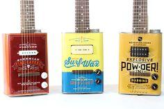 bohemian oil can guitars
