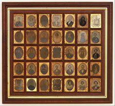 A stunning collection of 19th century American daguerreotypes.