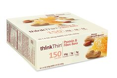thinkThin Protein and Fiber Bars, Honey Drizzle Peanut, 1.41 Ounce (Pack of 10) *** You can get additional details at the image link.