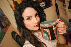 #BobaFett #Mug from #DisneyStore I love it *___* #starwars