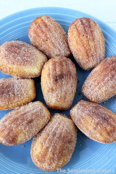 Cinnamon & Sugar Madeleines