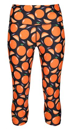 Get Ready To Stand Out From The Crowd In Tikiboo's Fresh And Fabulous Breathable LYCRA Length Capri Pants And Support Alzheimer's Research UK. Shop The Collection Online Today! Funky Leggings, Orange Leggings, Weight Training, The Fresh, Capri, Dementia, Confident, Collaboration, Recovery