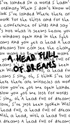 A Head Full of Dreams - Coldplay                                                                                                                                                                                 Más