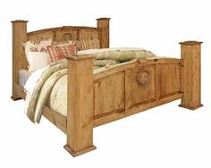 Texas Star Texas Star King Bed By Rustic Specialists At Ivan Smith Furniture
