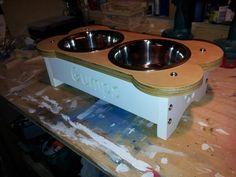 #raiseddogbowls #dogfeedingstation #elevateddogbowls #raisedfeeder #dogbowls www.raiseddogbowls.co.uk