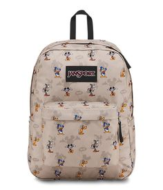 JanSport and Disney partnered up to bring you the Disney Superbreak Backpack! The perfect collaboration between JanSport style and Disney magic! Kate Spade Minnie Mouse, Mickey Mouse, Mickey Shorts, Jansport Superbreak Backpack, Disney Handbags, Backpack For Teens, Toddler Backpack, Backpack Online, Cute Backpacks