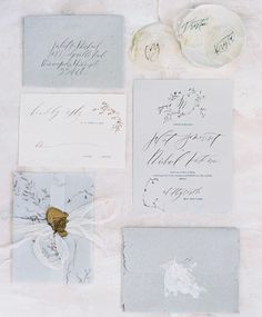 """896 Likes, 7 Comments - Wedding Sparrow (@weddingsparrow) on Instagram: """"We can't get enough of beautiful stationery suites like this one created by #FineArtCuration member…"""""""