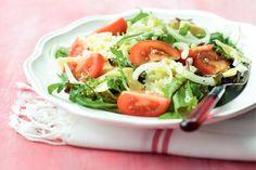 Italiaanse pasta-tomatensalade