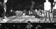 Can we just talk about the fact that 2/5  of One Direction can proficiently do the worm? (gif)