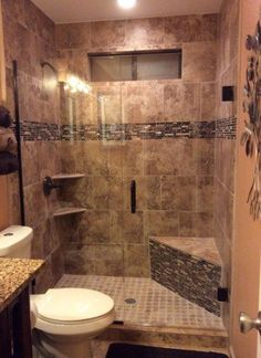 10 Respected Clever Tips: Tub To Walk In Shower Remodel shower remodeling with window walk in.Shower Remodel No Door Walk In. Rustic Bathroom Shower, Master Bathroom Shower, Rustic Bathrooms, Condo Bathroom, Bathroom Showers, Shiplap Bathroom, Large Bathrooms, Dream Bathrooms, Bathroom Vanities