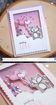 Hello everyone, Sharna  here, so excited to be guest designing for Wplus9 today! I have three cards to share with you featuring the new Frie...