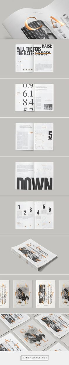 Capital Magazine Design | Abduzeedo Design Inspiration... - a grouped images picture - Pin Them All