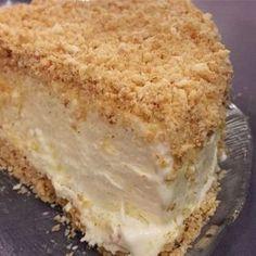 Osteiskake - Smedstua Apple Recipes, Baking Recipes, Cake Recipes, Dessert Recipes, Norwegian Cuisine, Norwegian Food, Pudding Desserts, No Bake Desserts, Cooked Apples