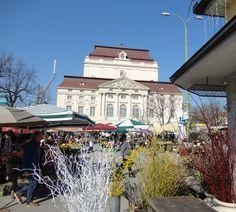 Graz, Oper und Kaiser-Josef-Platz