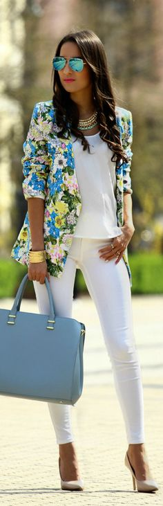 Spring-Ready Floral Blazers