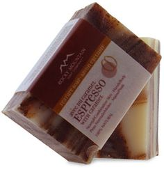 Rocky Mountain Soap Company - Espresso with Caramel Soap Caramel, Soap Company, Natural Products, Organic Beauty, Bar Soap, Rocky Mountains, Candle Jars, Espresso, Natural Remedies