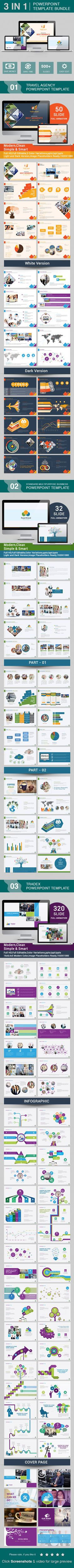 PowerPoint Bundle Template | Volume 1 - Business PowerPoint Templates