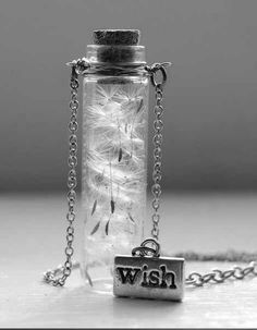 Dandelion Seeds Handmade Make a Wish Bottle Jar Necklace Jewelry Jewellery Dandelion Necklace, Make A Wish, How To Make, Dandelion Wish, Dandelion Seeds, Dandelion Art, Do It Yourself Inspiration, Do It Yourself Jewelry, Diy Schmuck