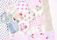 A Pretty Little Quilt Block / Dolly Henry