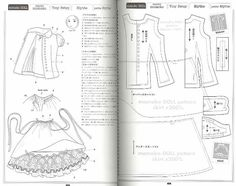 Many patterns for making clothes for Azone Pure Neemo. Russian forum