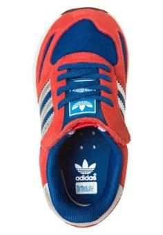 adidas Originals - LA TRAINER - Baskets basses - rouge