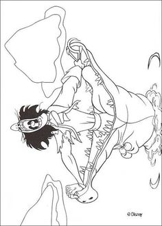 peter pan's captain hook coloring page.   coloring pages ... - Peter Pan Mermaids Coloring Pages