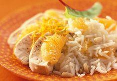 Aiguillettes de poulet à la mandarineVoir la recette desAiguillettes de poulet à la mandarine >>