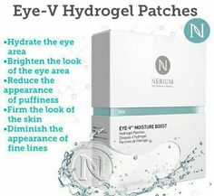 Nerium Eye-V Hydrogel Patches are available!!